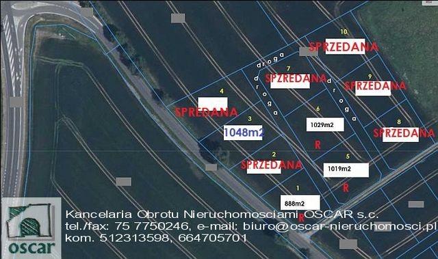 Działka budowlana na sprzedaż Łagów  1029m2 Foto 2