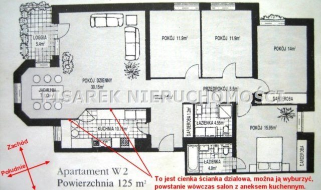 Mieszkanie na sprzedaż Warszawa, Włochy, Stare Włochy, Al. Jerozolimskie  125m2 Foto 12