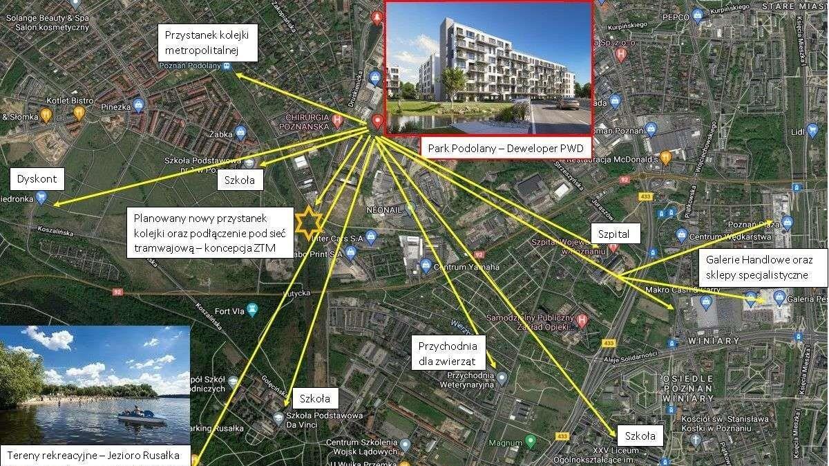 Mieszkanie czteropokojowe  na sprzedaż Poznań, Podolany, Park Podolany, Jasielska 3  92m2 Foto 10