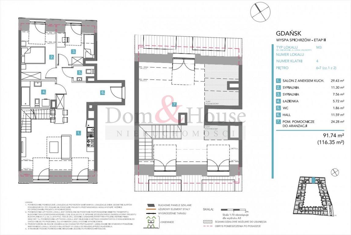 Mieszkanie czteropokojowe  na sprzedaż Gdańsk, Śródmieście, Chmielna  92m2 Foto 4