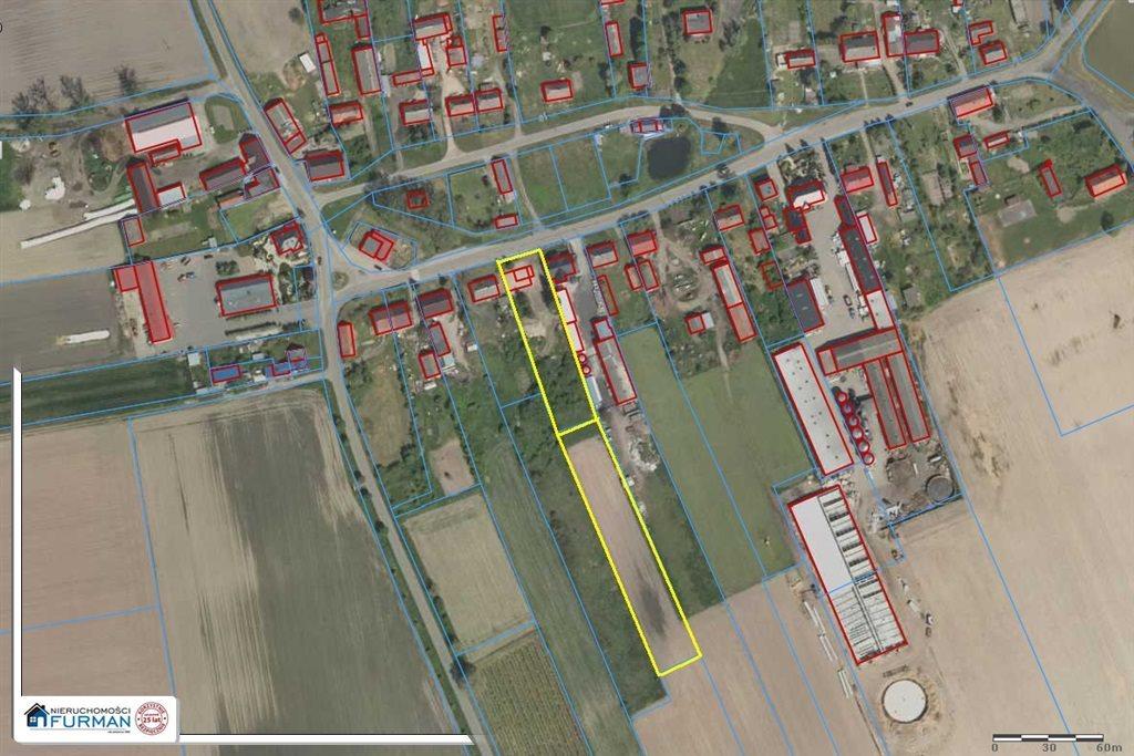 Działka budowlana na sprzedaż Tłukawy  6300m2 Foto 1