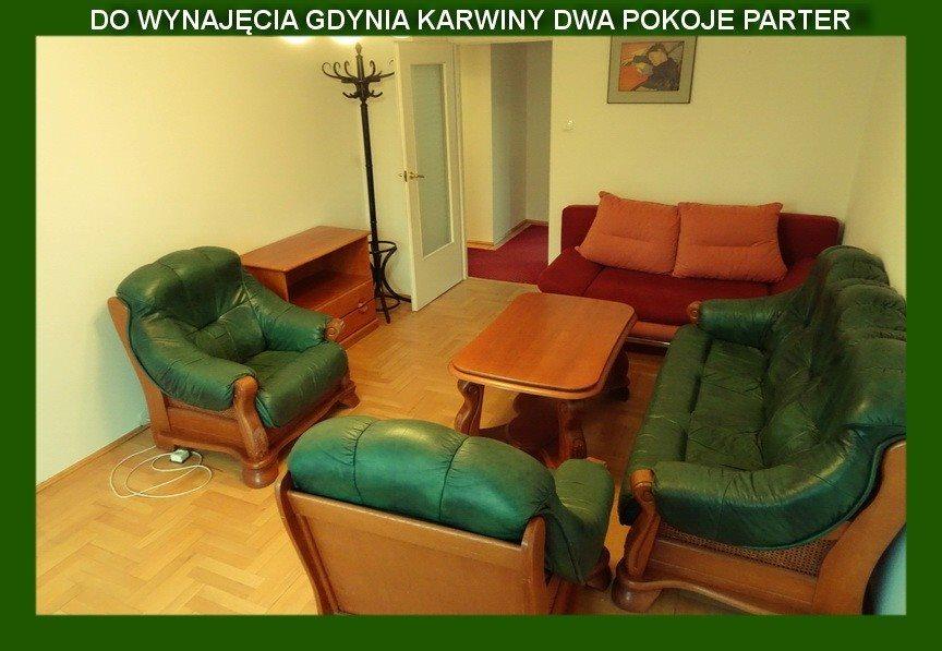 Mieszkanie dwupokojowe na wynajem Gdynia, Karwiny, Tatarczana  55m2 Foto 1