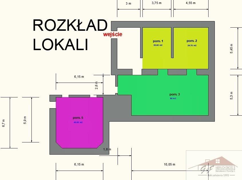 Lokal użytkowy na wynajem Jarosław, Jana Pawła II  40m2 Foto 4