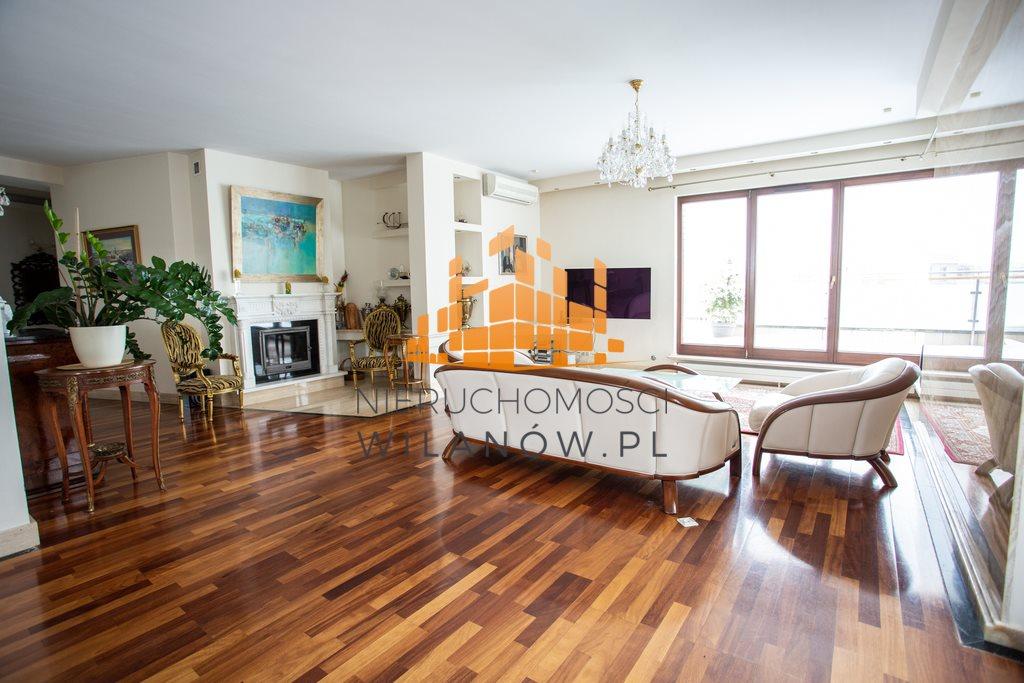 Mieszkanie czteropokojowe  na wynajem Warszawa, Wilanów, Sarmacka  200m2 Foto 2