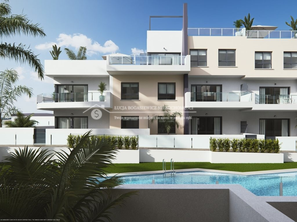 Mieszkanie dwupokojowe na sprzedaż Costa Blanca, Orihuela Costa  80m2 Foto 7