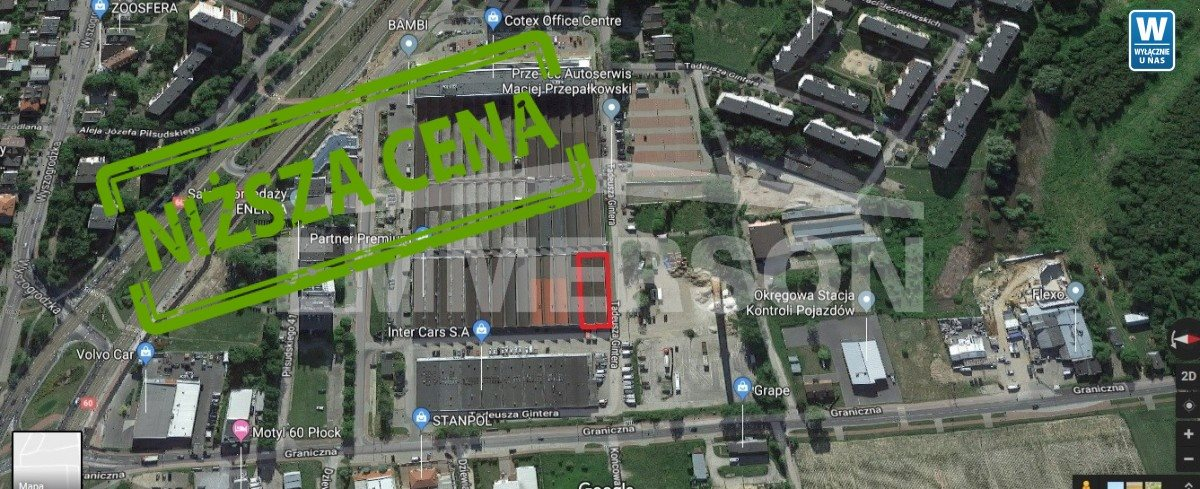 Lokal użytkowy na sprzedaż Płock, Graniczna  2055m2 Foto 3