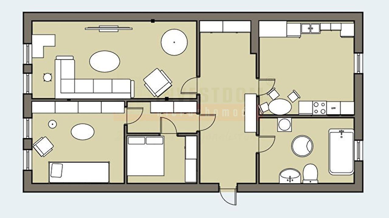 Mieszkanie trzypokojowe na sprzedaż Opole, Zadorze  57m2 Foto 9