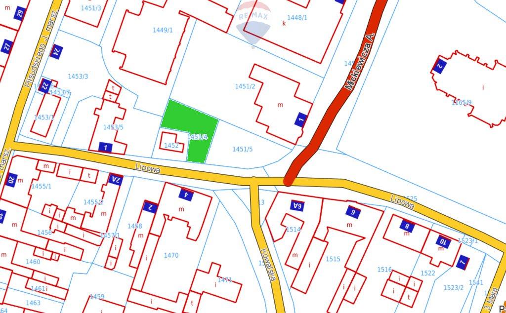 Działka budowlana na sprzedaż Oborniki, Lipowa  304m2 Foto 2
