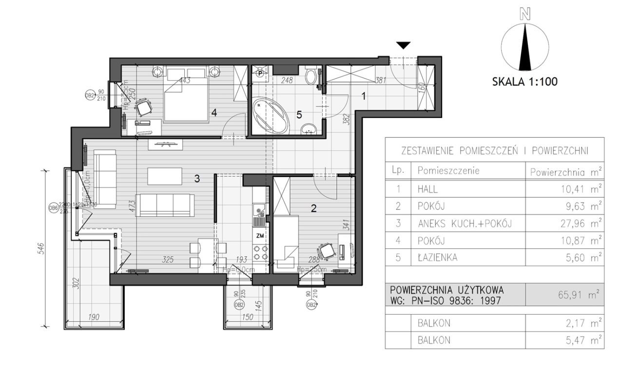 Mieszkanie trzypokojowe na sprzedaż Kielce, Szydłówek  66m2 Foto 7