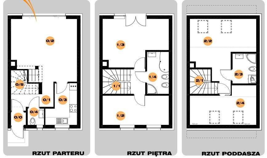 Mieszkanie czteropokojowe  na sprzedaż Poznań, Grunwald, Uradzka  101m2 Foto 2