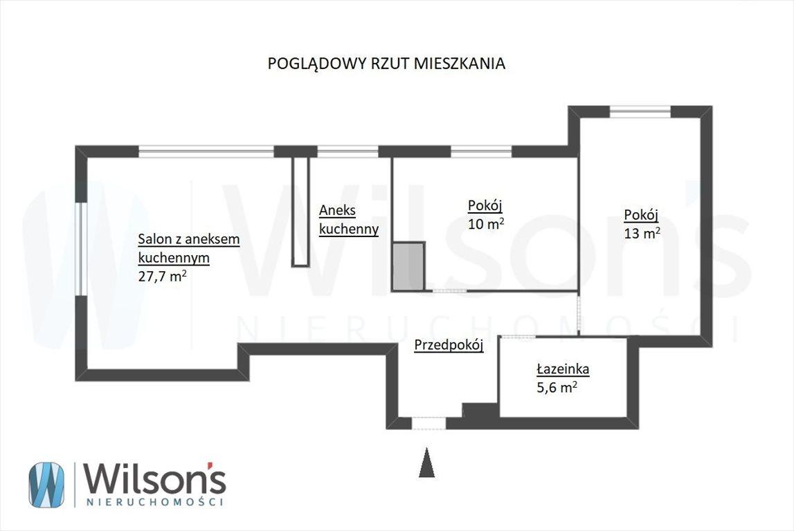 Mieszkanie trzypokojowe na sprzedaż Gdańsk, Przymorze, Prezydenta Lecha Kaczyńskiego  63m2 Foto 9