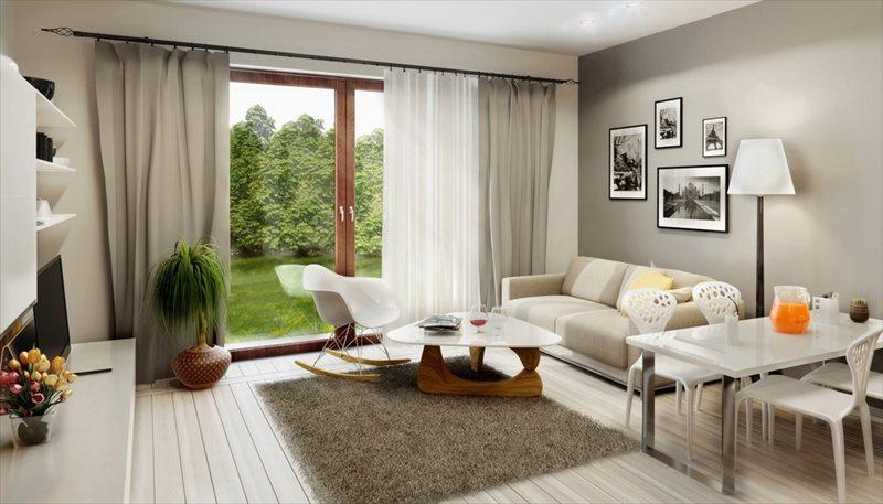 Mieszkanie czteropokojowe  na sprzedaż Komorniki  80m2 Foto 2
