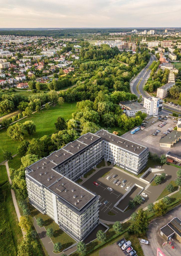 Mieszkanie trzypokojowe na sprzedaż Białystok, Antoniuk, al. Jana Pawła II  55m2 Foto 3