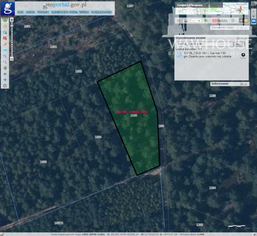 Działka leśna na sprzedaż Czernice  23500m2 Foto 7