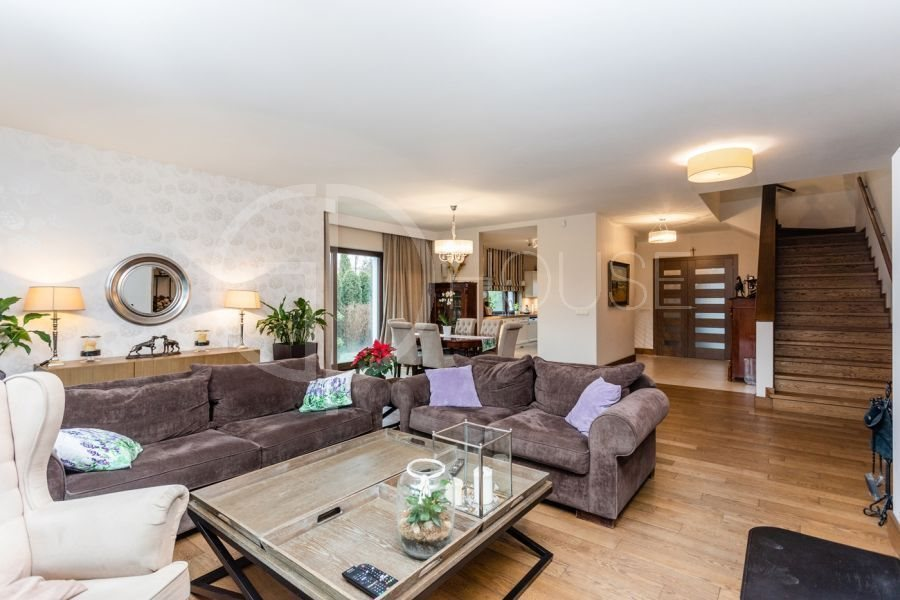 Luksusowy dom na sprzedaż Warszawa, Wilanów, Powsin, Powsinek  380m2 Foto 3