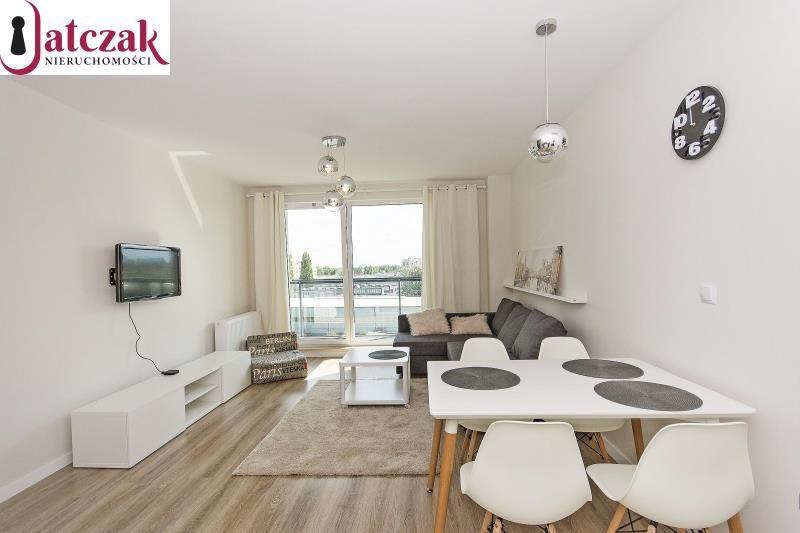 Mieszkanie dwupokojowe na wynajem Gdańsk, Przymorze, KWARTAŁ UNIWERSYTECKI, SZCZECIŃSKA  43m2 Foto 2