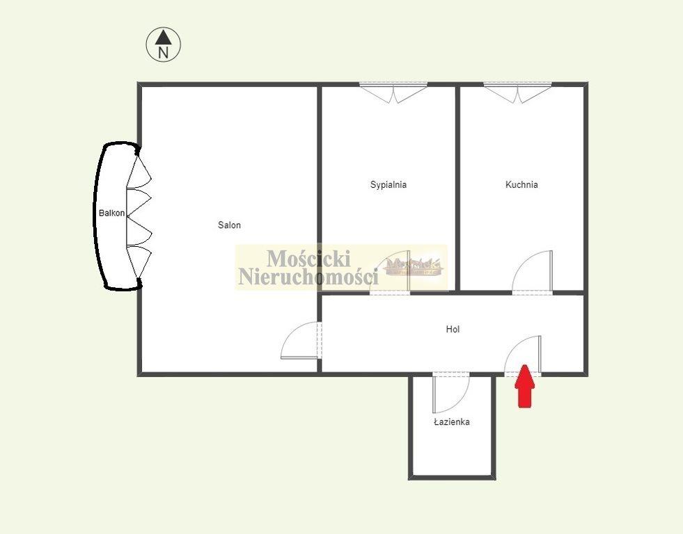 Mieszkanie dwupokojowe na sprzedaż Warszawa, Mokotów, Sadyba, Bolesława Limanowskiego  50m2 Foto 3