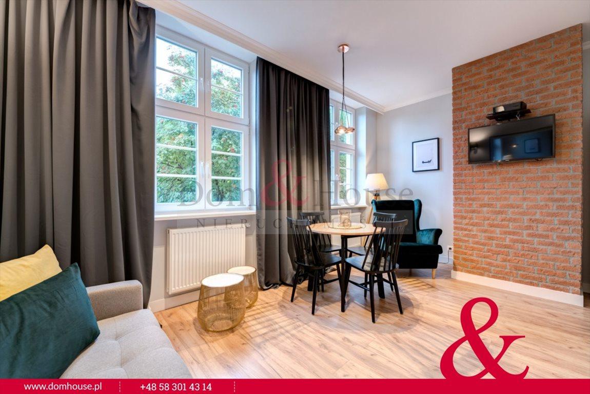 Mieszkanie trzypokojowe na wynajem Gdańsk, Śródmieście, Ogarna  50m2 Foto 3