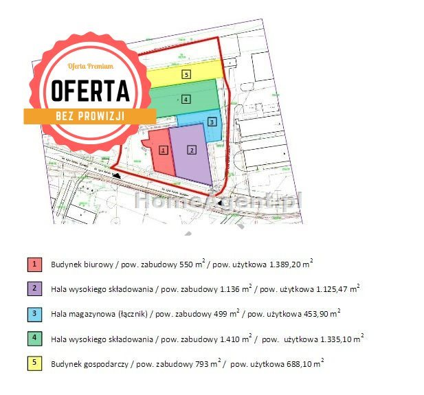 Lokal użytkowy na sprzedaż Katowice, Szopienice, TERENY PRZEMYSŁOWE  4992m2 Foto 6