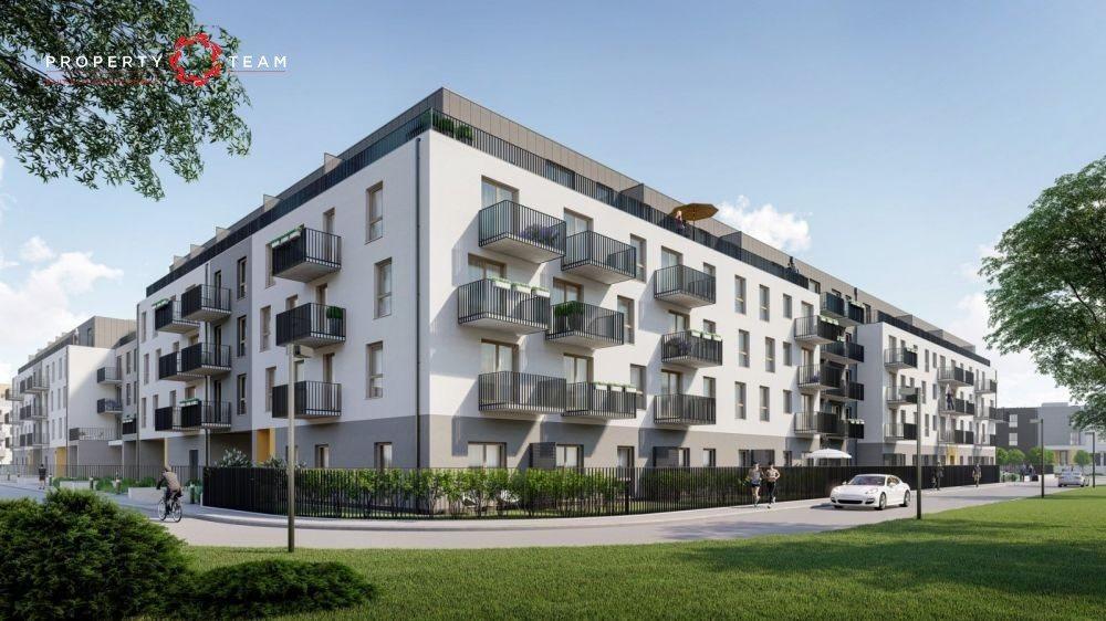 Mieszkanie dwupokojowe na sprzedaż Wrocław, Jagodno, Edmunda Kajdasza  49m2 Foto 4