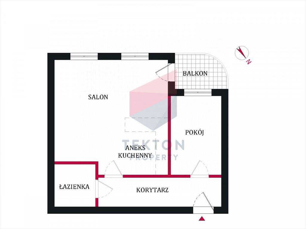 Mieszkanie dwupokojowe na sprzedaż Wrocław, Rynek, Wojciecha Cybulskiego  44m2 Foto 9
