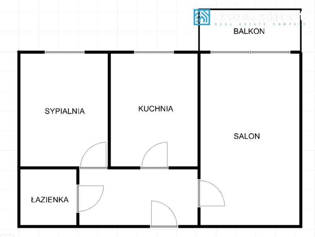 Mieszkanie dwupokojowe na sprzedaż Kraków, Nowa Huta, os. Oświecenia  54m2 Foto 6