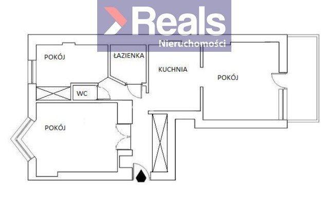 Mieszkanie trzypokojowe na sprzedaż Warszawa, Śródmieście, Śródmieście Południowe  65m2 Foto 3