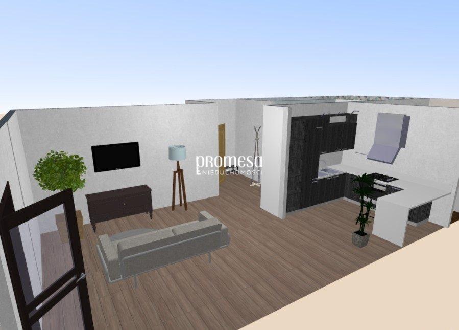 Mieszkanie trzypokojowe na sprzedaż Siechnice  58m2 Foto 1