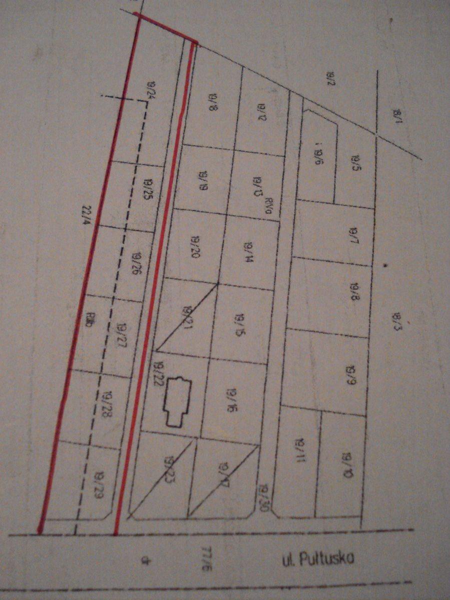 Działka budowlana na sprzedaż Wierzbica, Pułtuska  7321m2 Foto 1