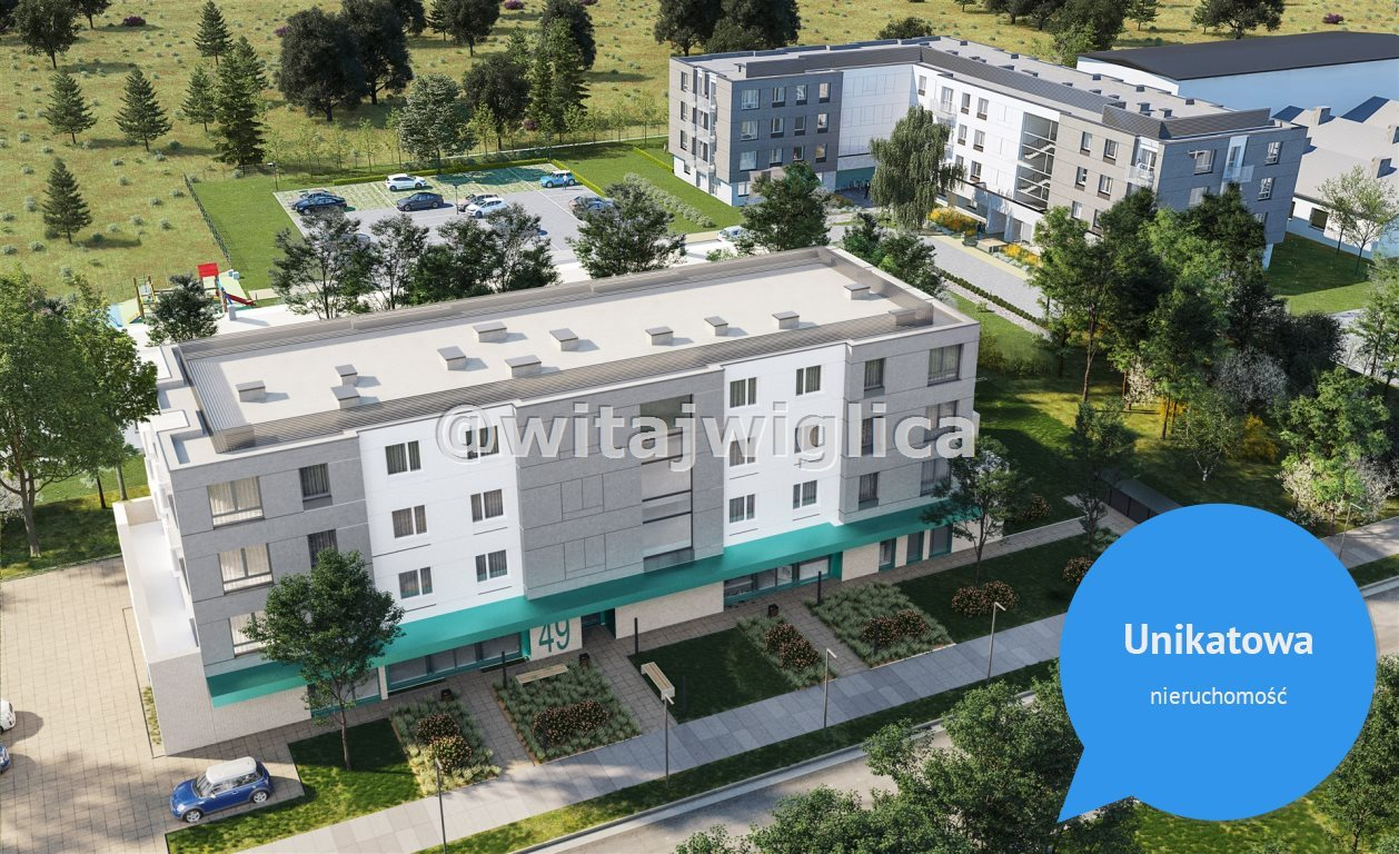 Mieszkanie czteropokojowe  na sprzedaż Wrocław, Psie Pole, Sołtysowice, Poprzeczna  61m2 Foto 4