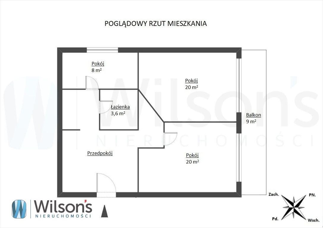 Mieszkanie dwupokojowe na wynajem Warszawa, Śródmieście, Aleje Jerozolimskie  60m2 Foto 3