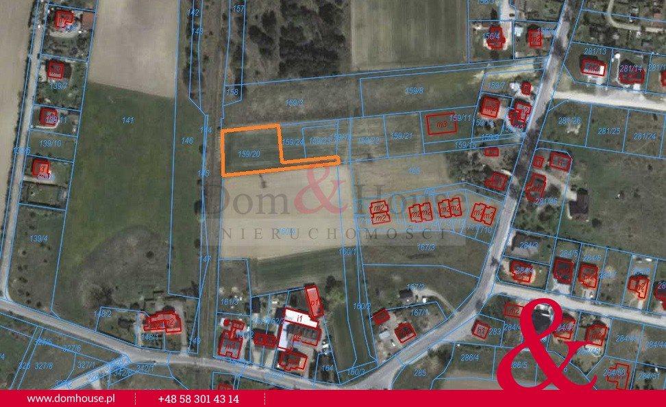 Działka budowlana na sprzedaż Gdańsk, Klukowo, Radarowa  1701m2 Foto 4