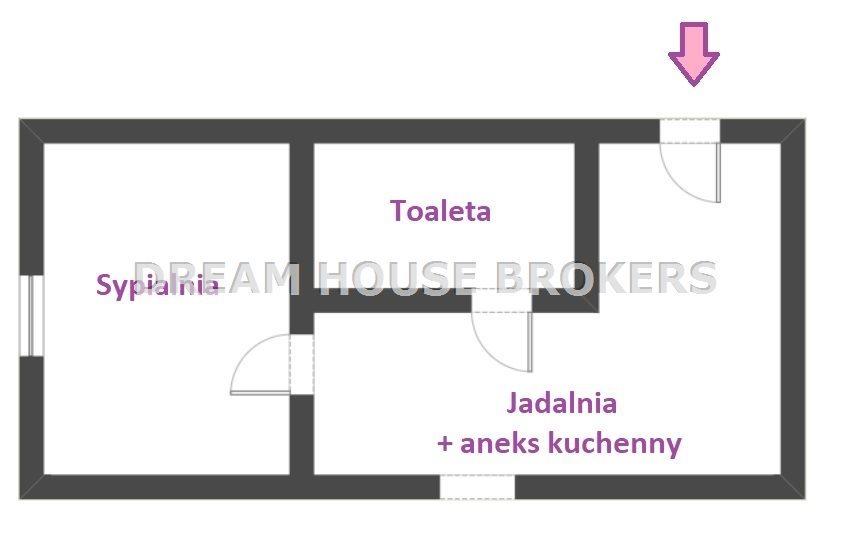 Mieszkanie dwupokojowe na wynajem Rzeszów, Lwowska  30m2 Foto 9