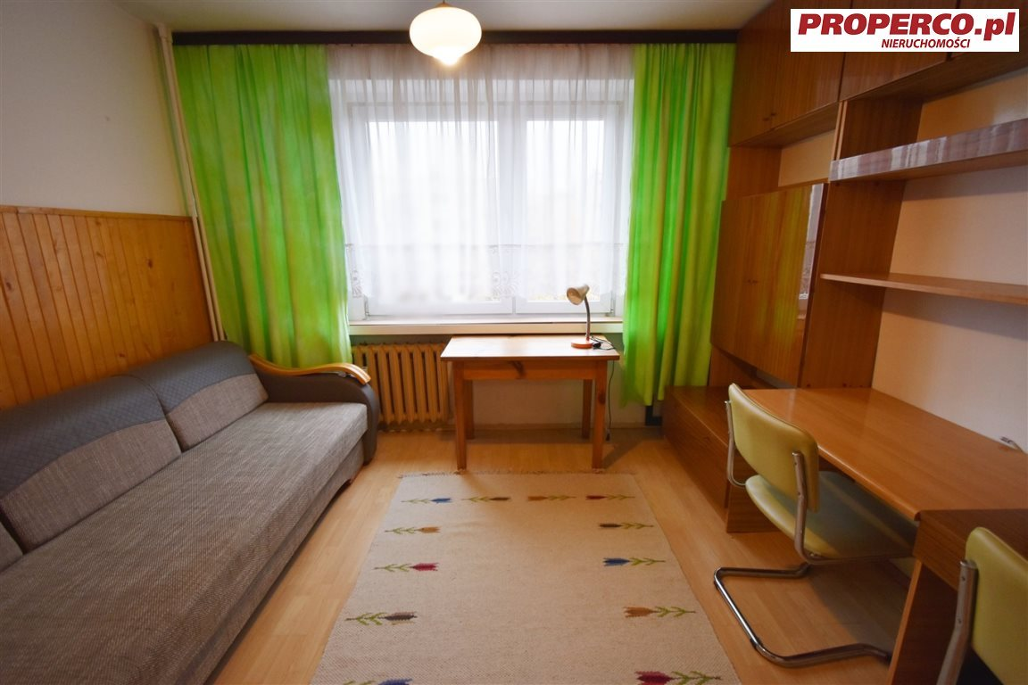 Mieszkanie dwupokojowe na wynajem Kielce, Bocianek, Norwida  50m2 Foto 2