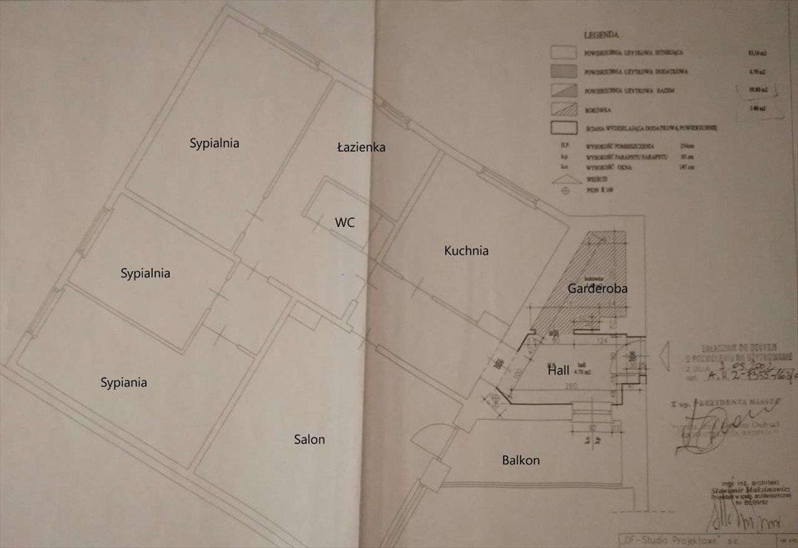 Mieszkanie czteropokojowe  na sprzedaż Białystok, Zielone Wzgórza, Zielonogórska 12  93m2 Foto 12
