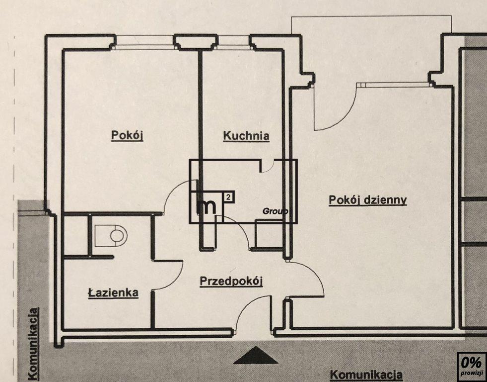 Mieszkanie dwupokojowe na sprzedaż Warszawa, Bielany, Osikowa  46m2 Foto 7