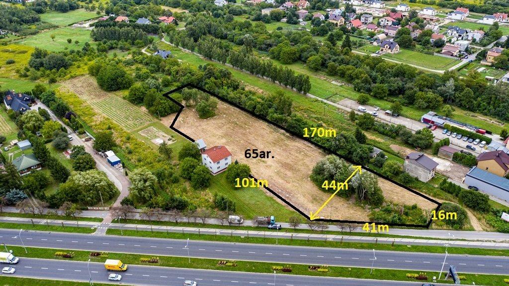 Działka komercyjna na sprzedaż Rzeszów, Warszawska  6500m2 Foto 1