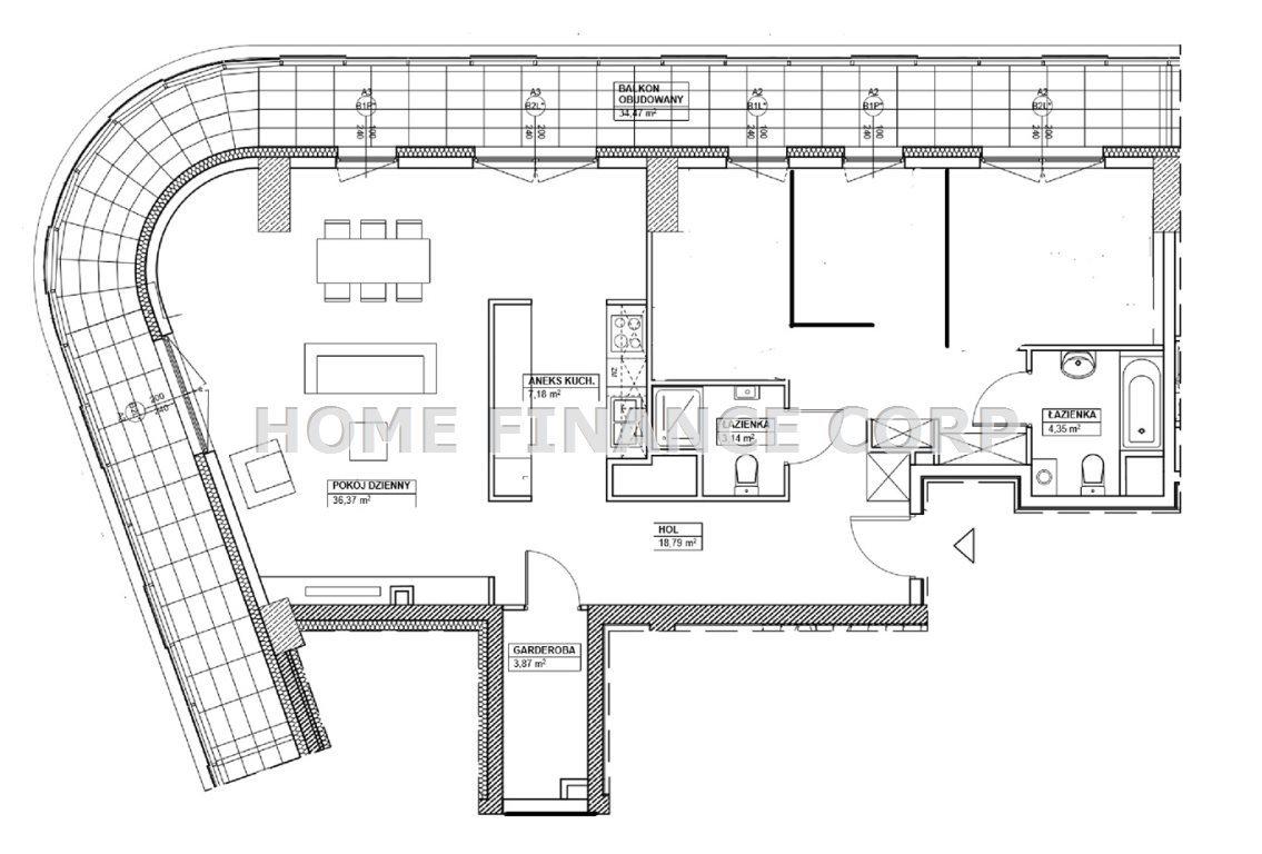 Mieszkanie czteropokojowe  na sprzedaż Warszawa, Wola  97m2 Foto 2
