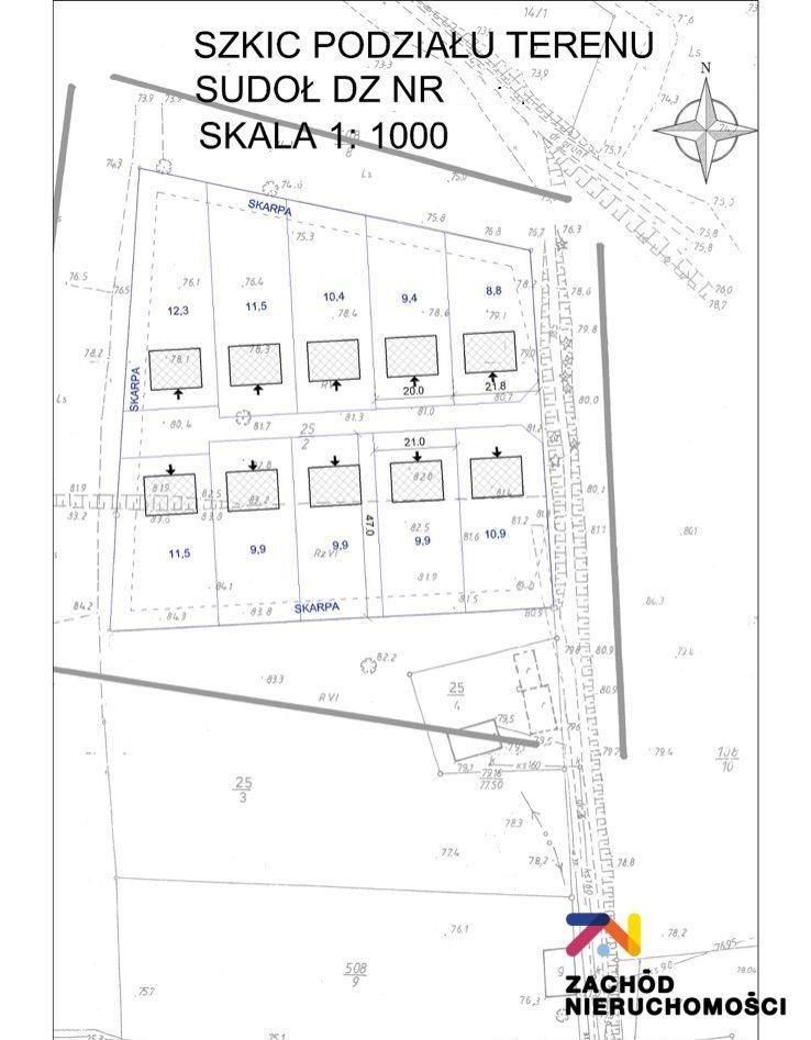 Działka budowlana na sprzedaż Sudoł  11800m2 Foto 5