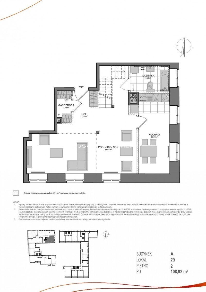 Mieszkanie trzypokojowe na sprzedaż Gdańsk, Wrzeszcz, Adama Mickiewicza  109m2 Foto 2