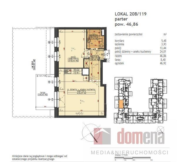 Mieszkanie dwupokojowe na sprzedaż Poznań, Stare Miasto, Winogrady, Wilczak  47m2 Foto 11