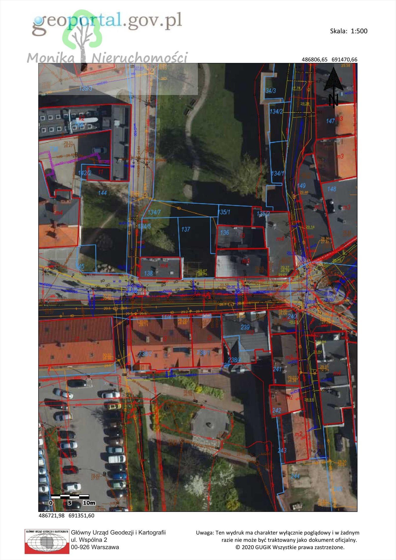Działka inwestycyjna na sprzedaż Tczew, Dąbrowskiego  367m2 Foto 5