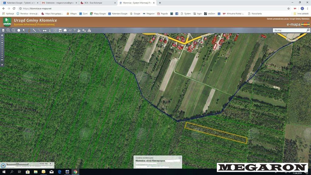 Działka leśna na sprzedaż Rzerzęczyce  25401m2 Foto 3