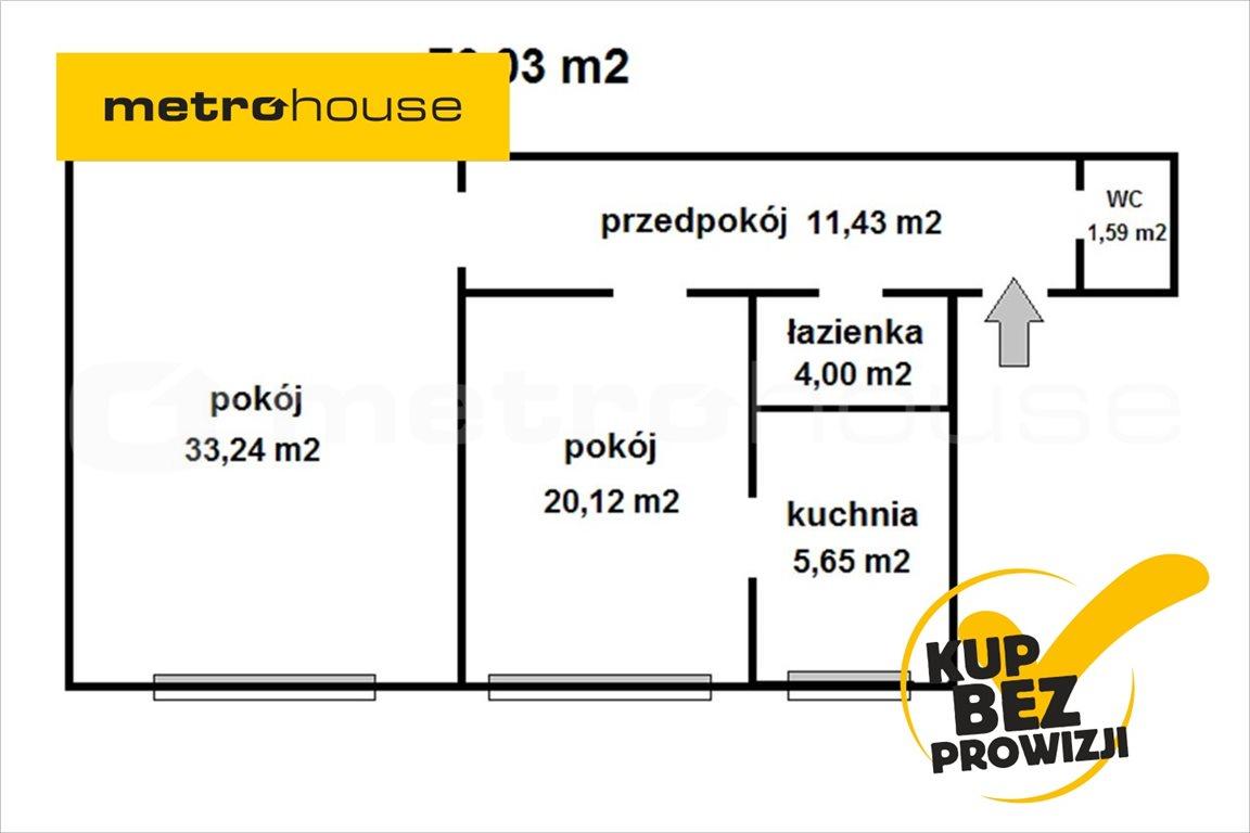 Mieszkanie dwupokojowe na sprzedaż Bytom, Śródmieście, Dworcowa  76m2 Foto 1