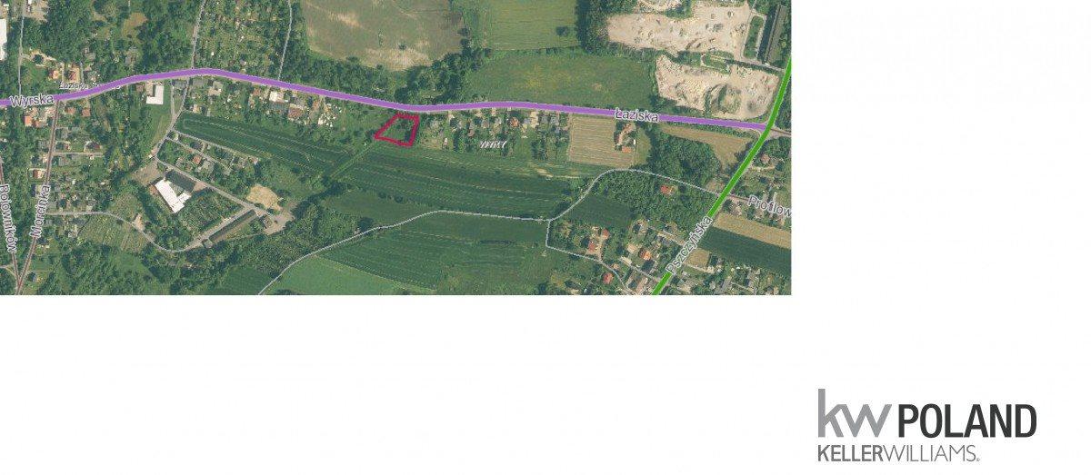 Działka rolna na sprzedaż Wyry, Łaziska  2047m2 Foto 2
