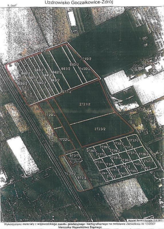 Działka rolna pod dzierżawę Goczałkowice-Zdrój  92605m2 Foto 1