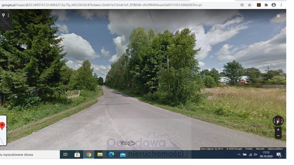Działka budowlana na sprzedaż Łochów  1220m2 Foto 1