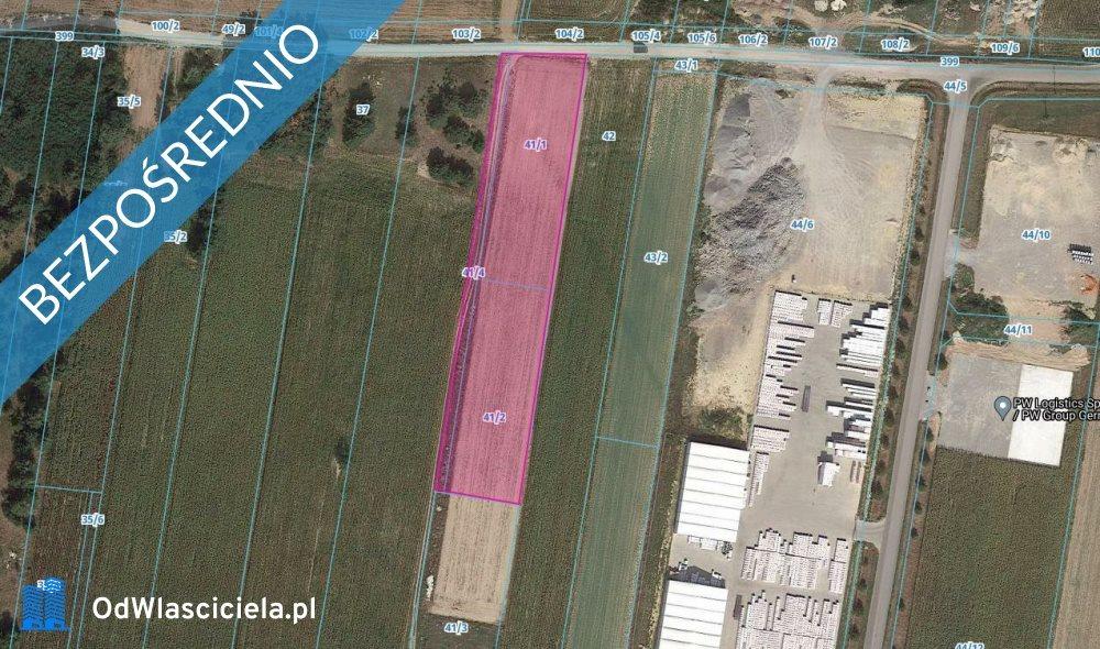 Działka budowlana na sprzedaż Paprotnia  6866m2 Foto 5