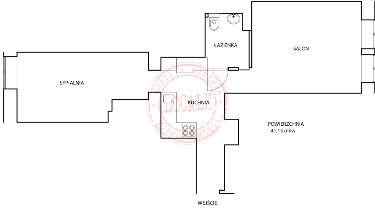 Mieszkanie dwupokojowe na sprzedaż Warszawa, Wola, Wawelberga  41m2 Foto 14