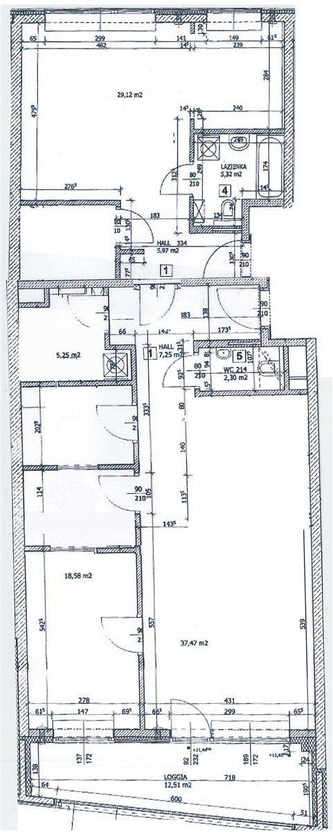 Mieszkanie trzypokojowe na wynajem Warszawa, Śródmieście, ul. Bagno  122m2 Foto 13